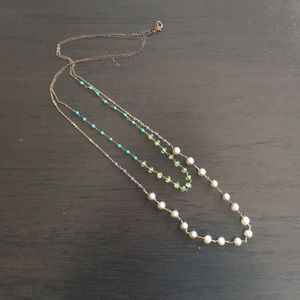 Anthropologie Longer Layered Necklace